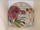 Carte Postal French Shabby Chic Country Style Floral Wall Clock in 3 Designs